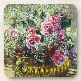 Monetのバラのコースター コースター