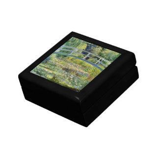 Monetのファインアートによる水ユリの池 ギフトボックス