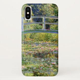 Monetのファインアートによる水ユリの池 iPhone X ケース