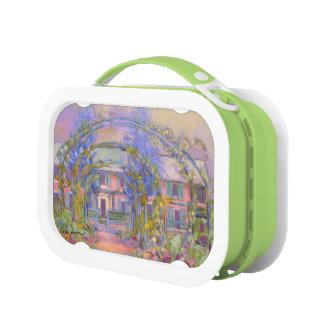 Monetの家及び庭のお弁当箱 ランチボックス