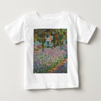 Monetの庭のアイリス ベビーTシャツ
