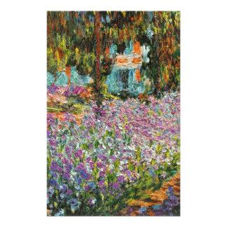 Monetの庭のアイリス 便箋