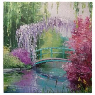 Monetの庭 ナプキンクロス