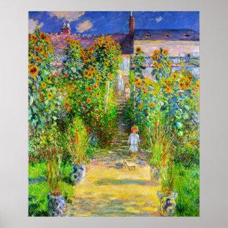 Monetの庭 ポスター