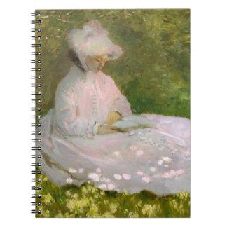 Monetの春のノート ノートブック
