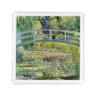 Monetの芸術による水ユリの池 アクリルトレー
