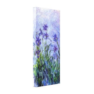 Monetの薄紫のアイリス キャンバスプリント