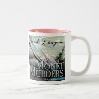 Monetはマグを殺害します(引用文と) ツートーンマグカップ