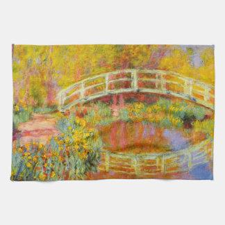 Monet日本のな橋台所タオル キッチンタオル
