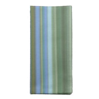 Monet水Lillyのストライプなナプキン ナプキンクロス