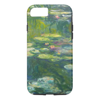 Monet水LillyのiPhone 7の堅い場合 iPhone 8/7ケース