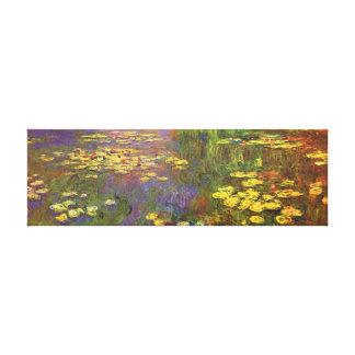 Monet水Lilysのファインアート キャンバスプリント
