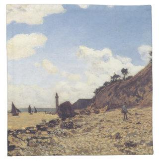 Monet著ファインアート ナプキンクロス