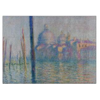 Monet著大運河ベニス カッティングボード