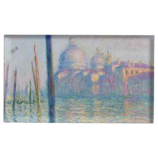 Monet著大運河ベニス テーブルカードホルダー