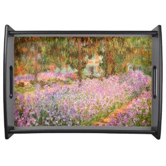 Monet著庭のアイリス トレー