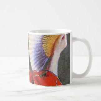 Monet著日本のな衣裳のカミーユ コーヒーマグカップ