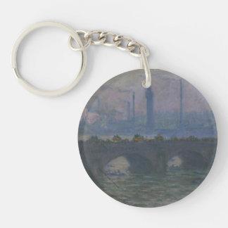 Monet -ウォータールー橋Keychain キーホルダー