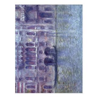 Monet、クロウドPalazzo da Mula、Venedig 1908年のTechni ポストカード