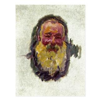 Monet、クロウドSelbstportrか。tの1917年の技術か。l auf ポストカード