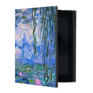 Monet -スイレンの1919年のアートワーク iPad ケース