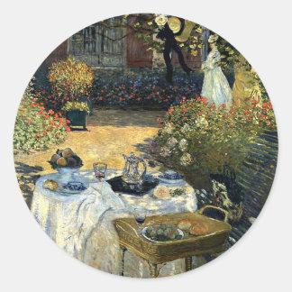 Monet -昼食会 ラウンドシール