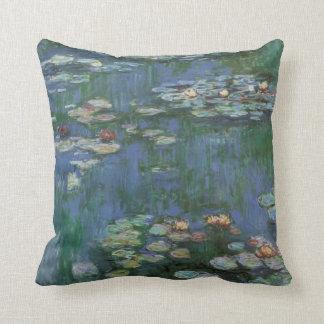Monet 《植物》スイレン クッション