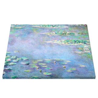 Monet Les Nympheasのスイレンのファインアート キャンバスプリント