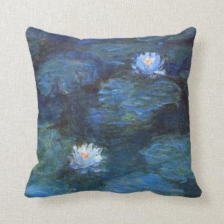 Monet Nympheasの枕 クッション