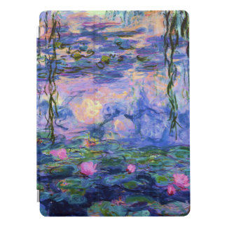 Monet Water Lilies with Pond Reflections iPad Proカバー