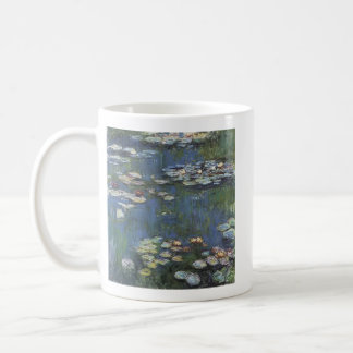 Monet Waterlilliesのマグ コーヒーマグカップ