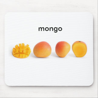 Mongoのマウスパッド マウスパッド