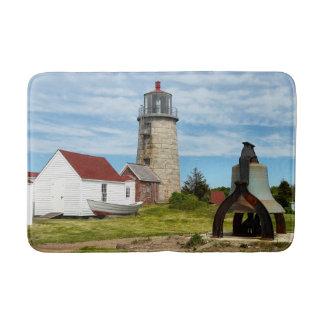 Monheganの島の灯台、メイン バスマット