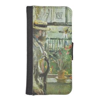 "Monisotの"" Eugene Manet""のカスタムなウォレットケース iPhoneSE/5/5sウォレットケース"