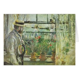 """Monisotの"""" Eugene Manet""""の挨拶状 カード"""