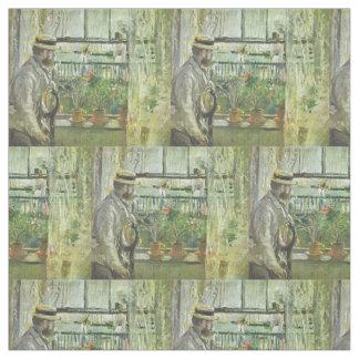 """Monisotの"""" Eugene Manet""""の芸術の生地 ファブリック"""