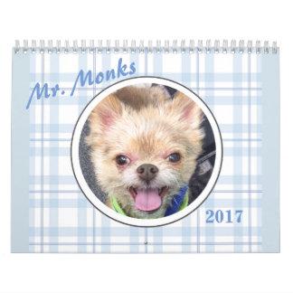 Monks 2017氏のカレンダー カレンダー