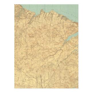 Monmouthの海岸、ニュージャージー ポストカード
