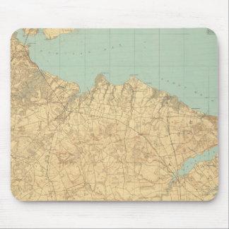 Monmouthの海岸、ニュージャージー マウスパッド