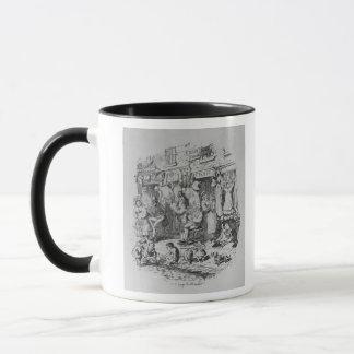Monmouthの「Boz著スケッチからのイラストレーション マグカップ