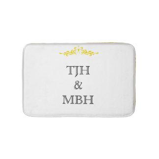 Monograms Bath Mat バスマット