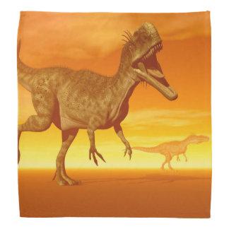 Monolophosaurusの恐竜3Dは描写します バンダナ