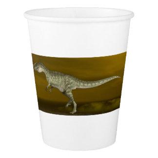 Monolophosaurusの恐竜- 3Dは描写します 紙コップ