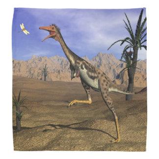 Mononykusの恐竜の狩り- 3Dは描写します バンダナ