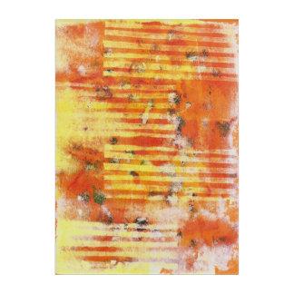 Monoprint抽象的な17025YOSのプリント アクリルウォールアート