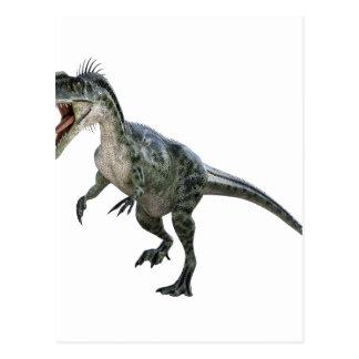 Monotophosaurusのランニングおよびとどろくこと ポストカード