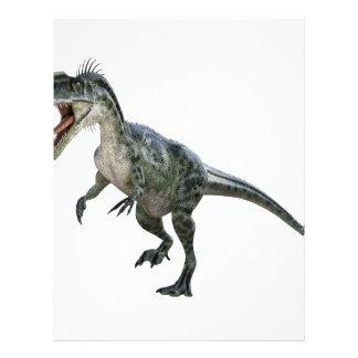 Monotophosaurusのランニングおよびとどろくこと レターヘッド
