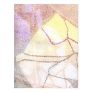 Monotypeのプリント3 ポストカード