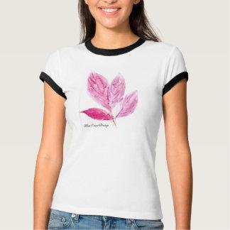 Monotypeの植物のプリント Tシャツ