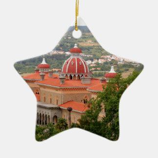 Monserrate宮殿、Sintraの近くで、ポルトガル セラミックオーナメント